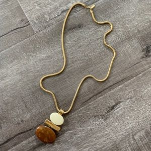 Vintage Modern bohemian snake chain Avon necklace